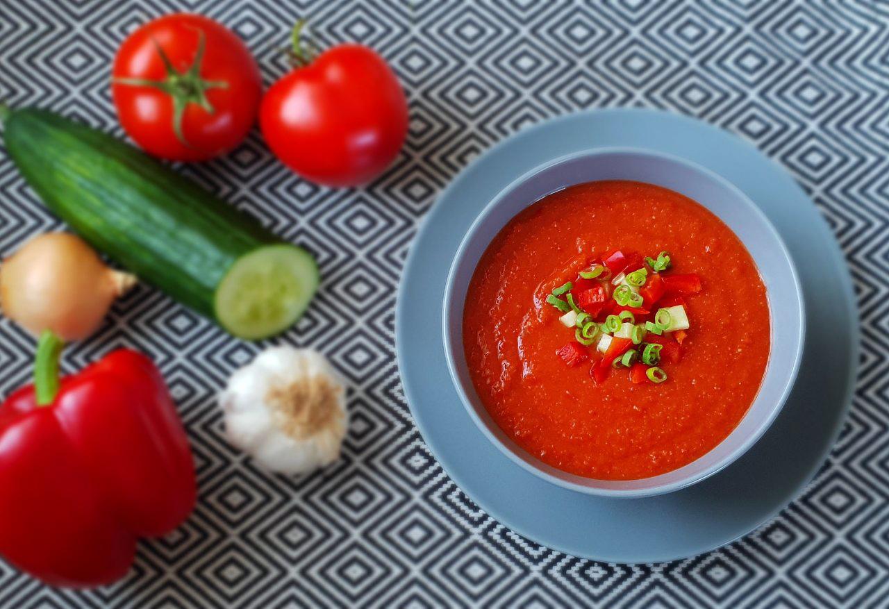 Gazpacho (spanische Suppe – kalt genießen)