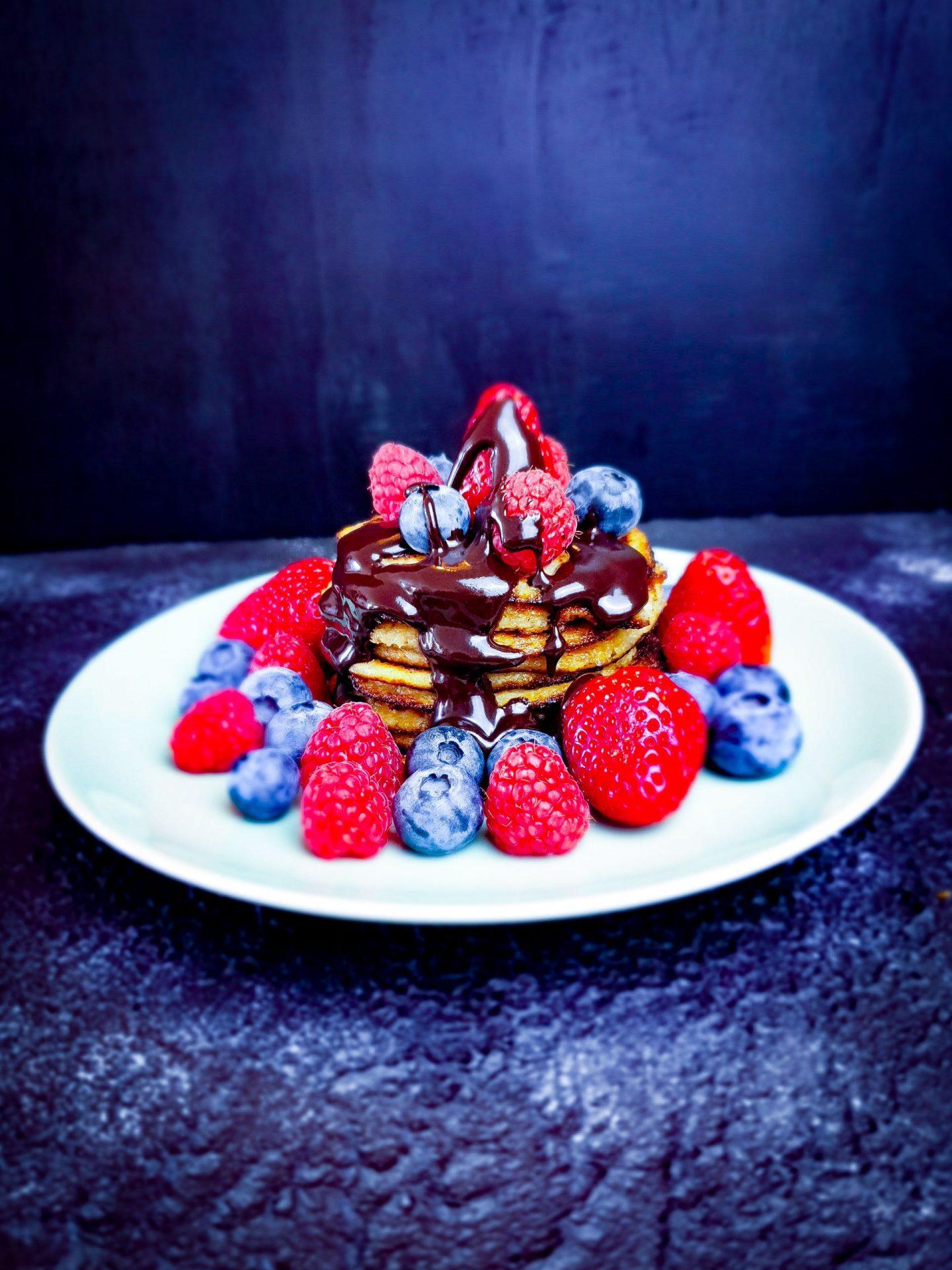 Nahrhafte Pancakes